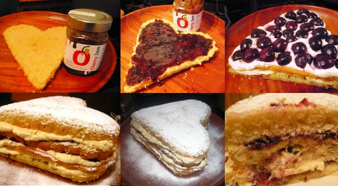 Cherry Olive Oil Jam Cake Recipe Page
